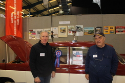 ACWCC is awarded a prize at the Footman James Restoration Sh